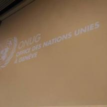 representantes de YWCA Colombia en Foro de la ONU Ginebra Suiza 10