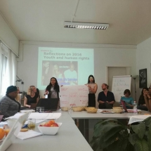 representantes de YWCA Colombia en Foro de la ONU Ginebra Suiza 6