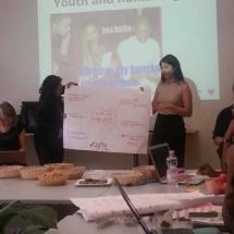 representantes de YWCA Colombia en Foro de la ONU Ginebra Suiza 7