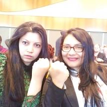 representantes de YWCA Colombia en Foro de la ONU Ginebra Suiza 8