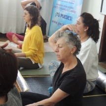 Taller Cuidado a traves del Yoga Restaurativo 039